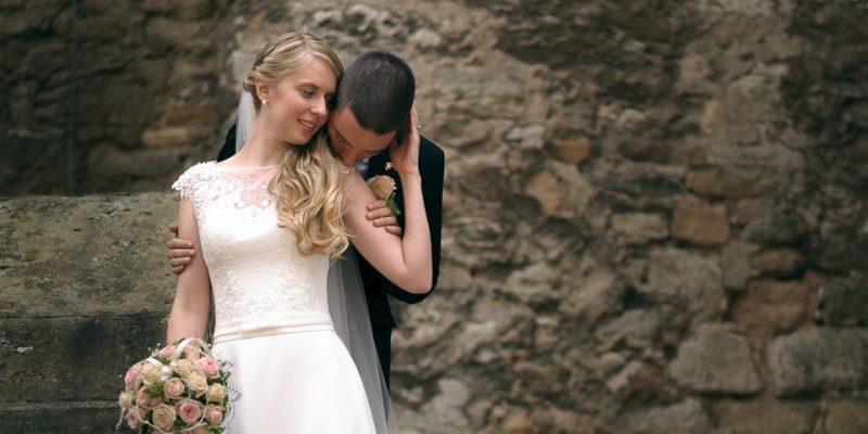 Hochzeitsfotografie Marco Dierbach Foto vom Brautpaar Wedding phtoto Bride and groom Kölleda Schloss Beichlingen Stödten Thüringen