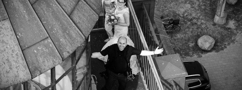 Hochzeitsfotos an der Ostsee - kein Problem