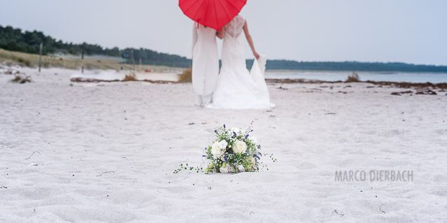 Hochzeitsfotografie Marco Dierbach Foto vom Brautpaar Wedding phtoto Bride and groom Ostsee baltic sea