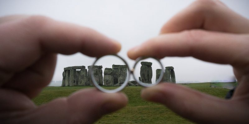 Hochzeitsfotografie Marco Dierbach Foto vom Brautpaar Wedding phtoto Bride and groom Stonehenge great britain